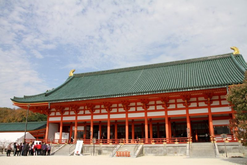 Kyoto Imperial Palace Cung điến to my love