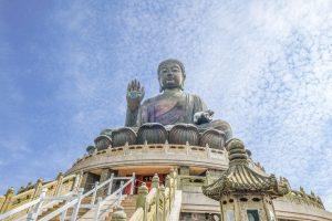 Một ngôi chùa ở Hồng Kông