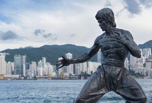 Tượng Lý TIểu Long ở Hồng Kông