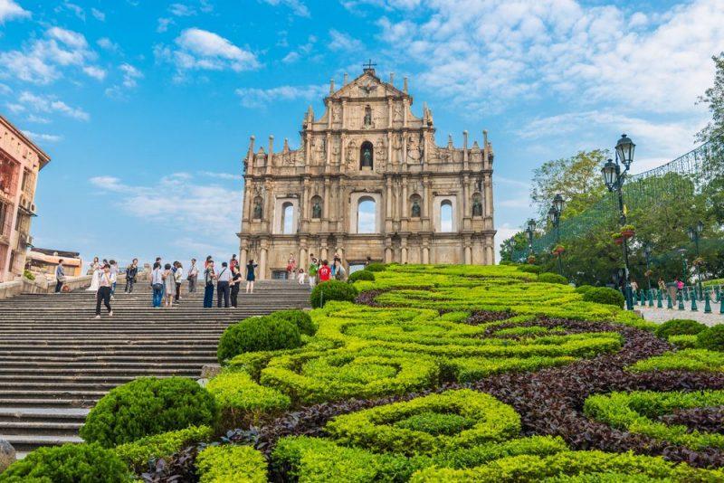 St. Paul, một nhà thờ Bồ Đào Nha ở Macau