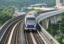 Xe lửa ở Guangzhou